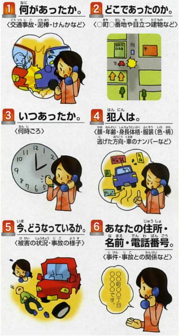 守ります地域の安全110番   秋田県警察
